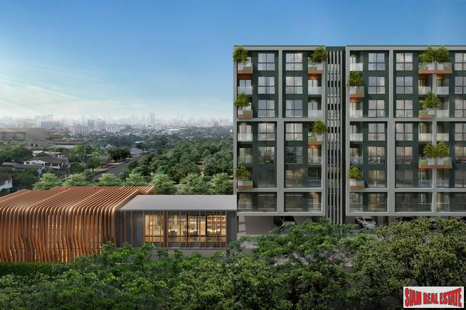 New Green Low-Rise Development with Unique Facilities in Huay Kwang - Two Bedroom