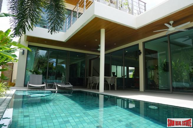Three Bedroom, Two Storey Private Pool Villa Close to Rawai Beach Front