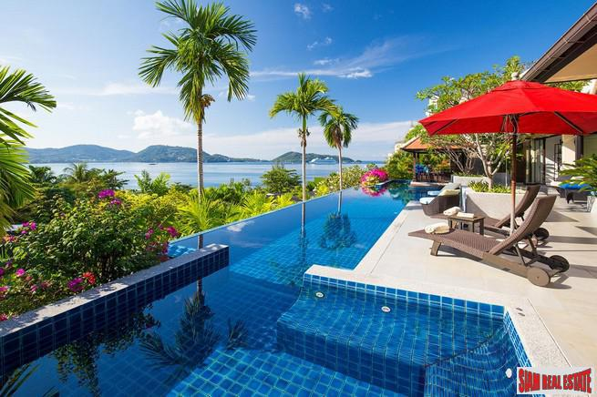 Amazing Sea View Pool Villa with Breathtaking Views of Patong Bay in Kalim