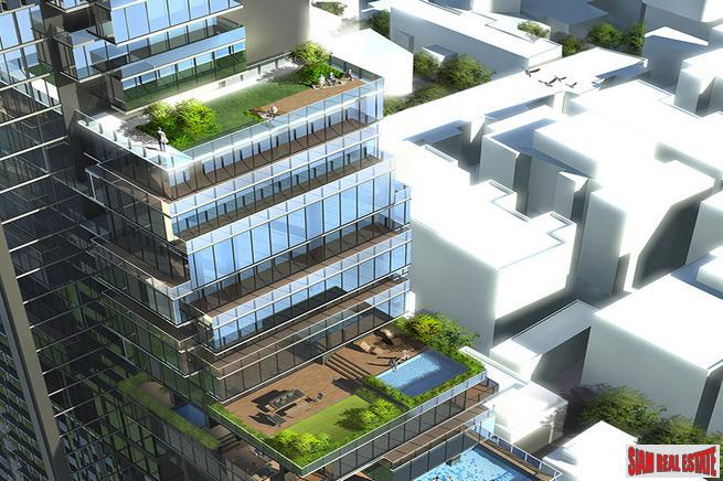 Innovative and Interesting One & Two Bedroom Condos for Sale in New Nana Project