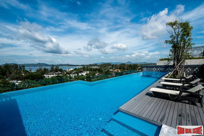 One Bedroom Condo with Mountain Views and Close to Surin Beach