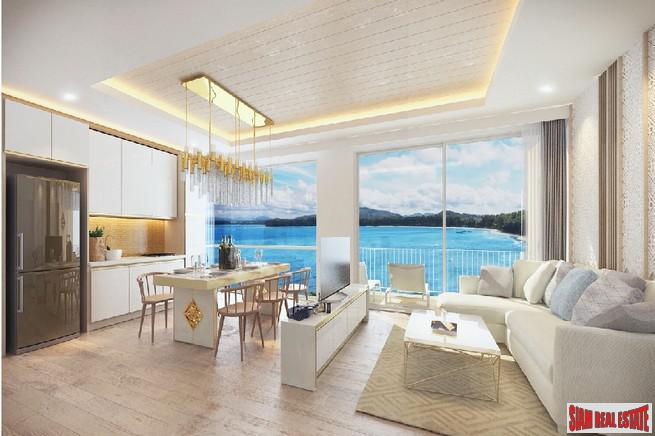 Beachfront Two Bedroom Condos in New Luxury Development in Nai Yang