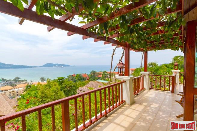 Breathtaking Patong Bay Views from this Stylish and Inviting Four Bedroom Villa