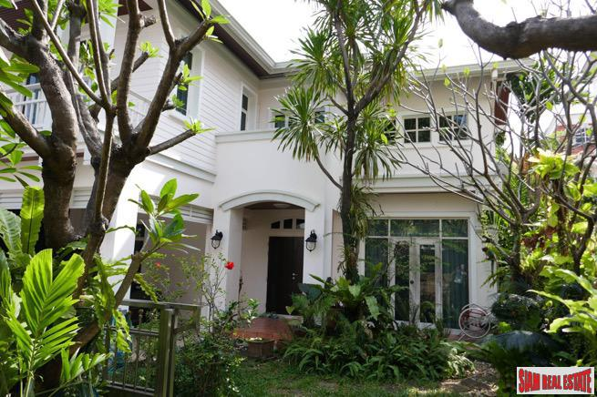 Large Two Storey Three Bedroom Family Home with Lush Landscaping at Nawamin, Bueng Kum