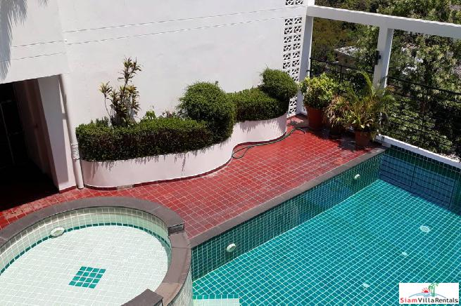 Five Bedroom Pet Friendly Low Rise Penthouse in Asoke, Bangkok