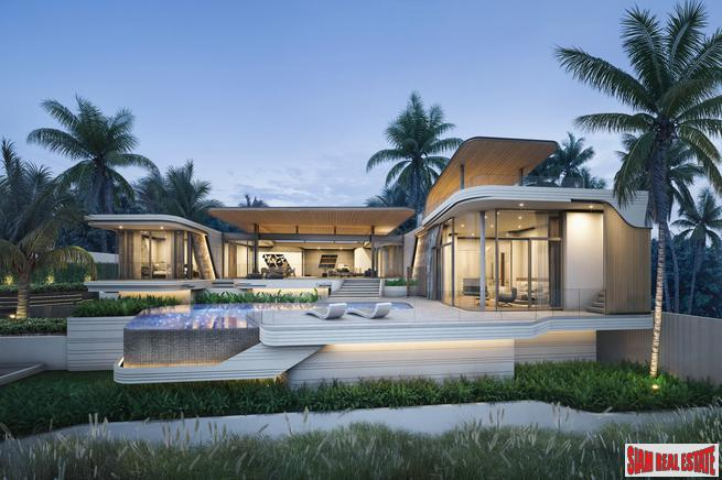 Luxurious and Private Four Bedroom Pool Villa Development in Bang Tao