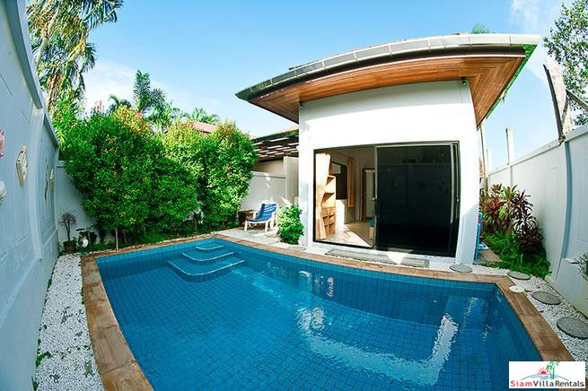 Three Bedroom Family Pool Villa on Large Land Plot in Chalong