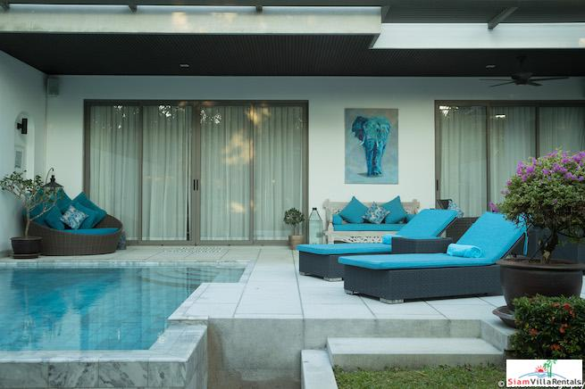 Contemporary and Bright Two Bedroom with Private Pool in Bang Tao, Phuket