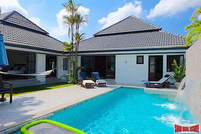 Large Courtyard Design Three Bedroom Pool Villa in Loch Palm