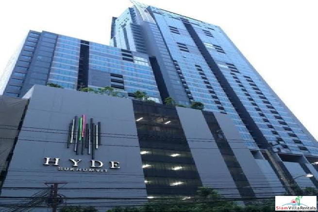 Hyde Sukhumvit | Sweeping City Views from this Extra Large Three Bedroom Condo Close to BTS Nana