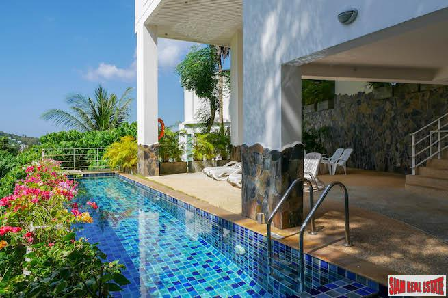 Kata Ocean View Condo | Nice One Bedroom Condo with Amazing Big Buddha Mountain and Partial Sea View