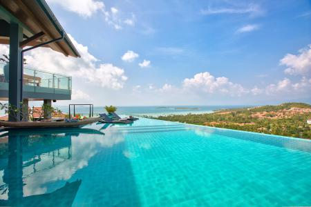 PALATIAL KOH SAMUI VILLA WITH PANORAMIC VIEWS S1526