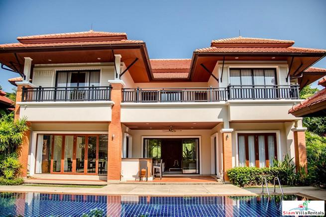 Four-bedroom  Luxury Thai-Bali Pool Villa in Laguna Community