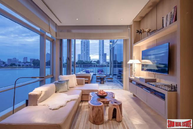 Four Seasons Residence |  Two Bed Condo for Sale on 65th Floor Sathorn-facing