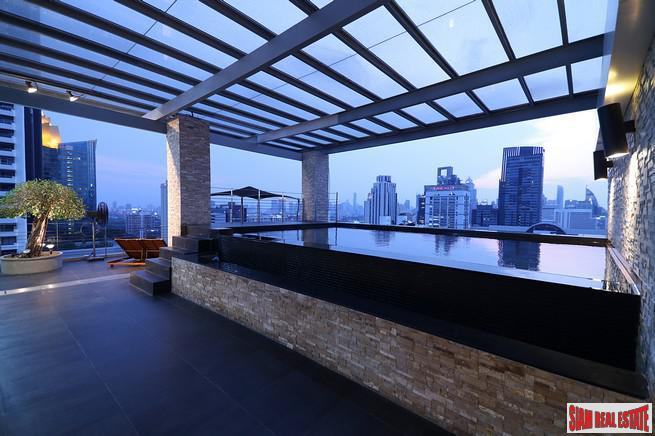 Unique Triplex Penthouse Condo with Private Pool and Panoramic Views at Asoke, Bangkok