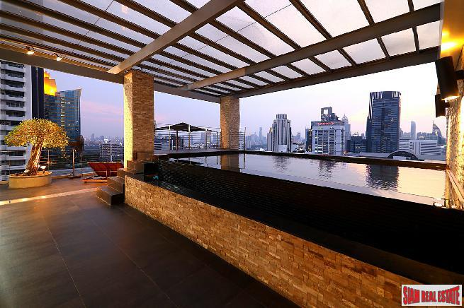 Unique Penthouse Condo with Private Pool and Panoramic Views at Asoke, Bangkok