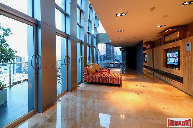 Unique Duplex Condo with Panoramic Views at Asoke, Bangkok