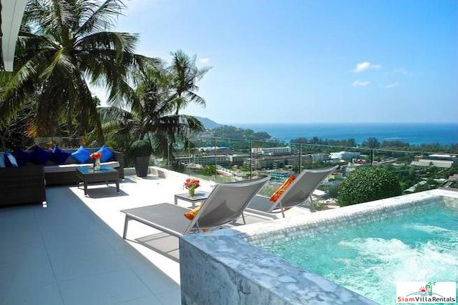 Breathtaking Andaman Sea Views from this Private and Quite Condo for Rent in Kata