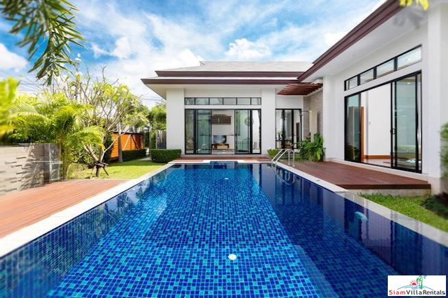 Modern, Spacious and Private Four Bedroom Pool Villa in Layan