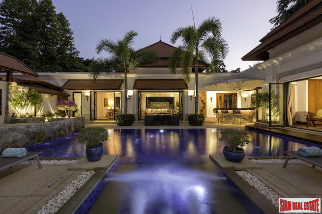 Exquisite Private Pool Villa in an Exclusive Estate Near Laguna Resort