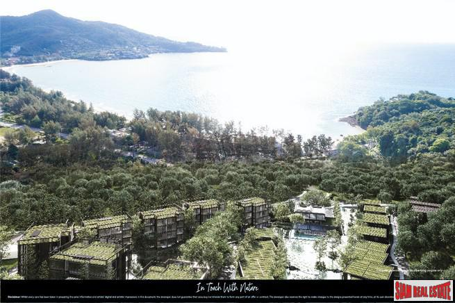New Studio and One Bedroom Condo Development with Hillside or Lakeside  Views in Kamala