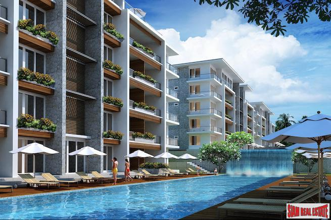 One Bedroom Resort Style Condominiums in New Kamala Development