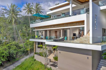 LUXURY ARCHITECT DESIGNED KOH SAMUI VILLA FOR SALE S1340