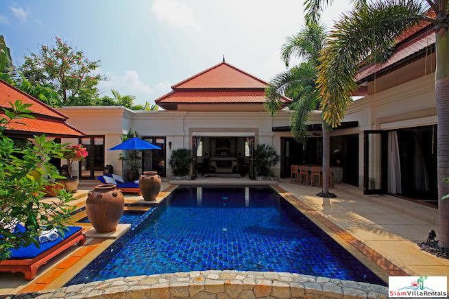 Exclusive Five Bedroom Private Pool Villa Just Minutes from the Beach in Laguna, Phuket