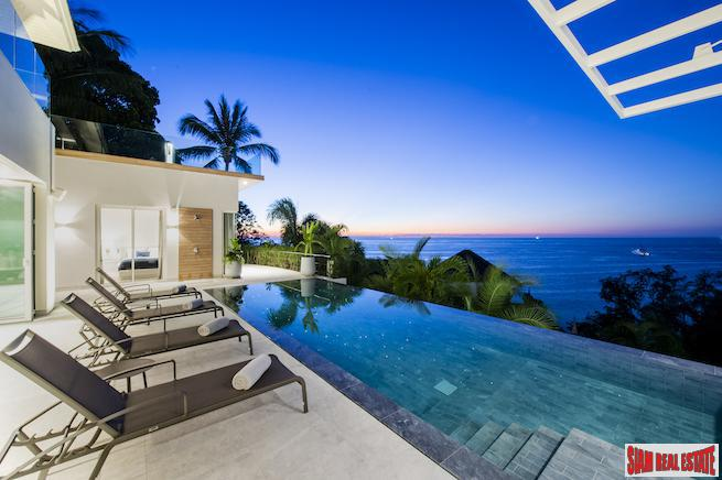 Exquisite Ultra-Luxury Four Bedroom Sea View Pool Villa in Surin Hills