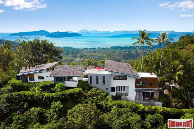 STUNNING KOH SAMUI VILLA WITH PANORAMIC VIEWS S1548