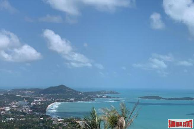 1 RAI KOH SAMUI LAND FOR SALE WITH PANORAMIC VIEWS S1595