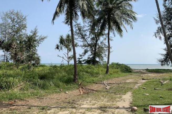 1.5 RAI KOH SAMUI BEACHFRONT LAND FOR SALE S1578