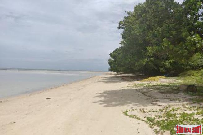 3 RAI KOH SAMUI BEACHFRONT LAND FOR SALE S1462