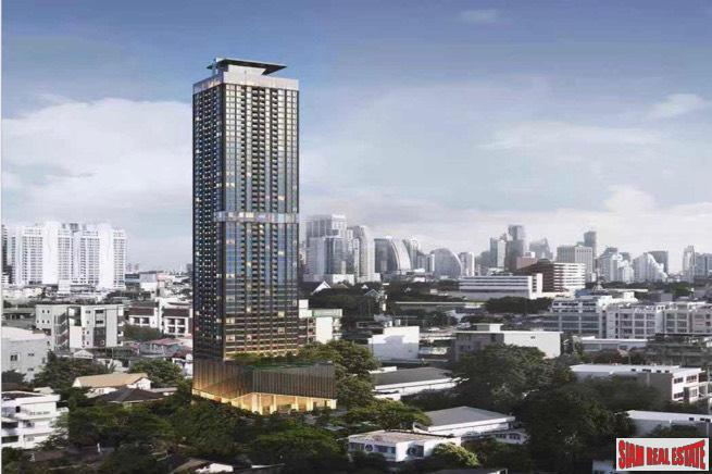 New 55 Storey Project with Ultra Modern Amenities in Phetchaburi - One Bedroom Studio