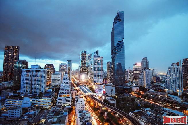 The Ritz-Carlton Residences at MahaNakhon | Magnificent Two Bedroom Chong Nonsi Condo with Unbelievable City and River Views