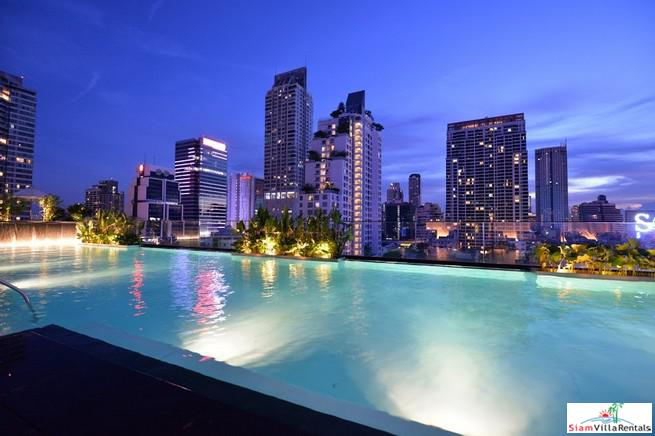 Superb Three Bedroom Condo with Fantastic City Views in Chong Nonsi