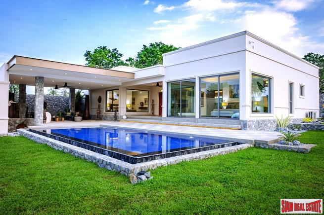 New Project of Stunning Modern 3-5 Bed Luxury Villas - East Pattaya