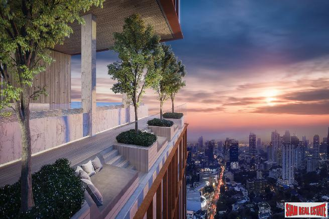 Highly Anticipated New High-Rise Condo in Prime Ekkamai, Sukhumvit 63 - Penthouse Units