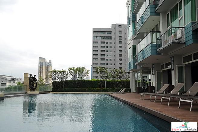 Spacious Furnished  Two Bedroom for Rent on High Floor in Thong Lo