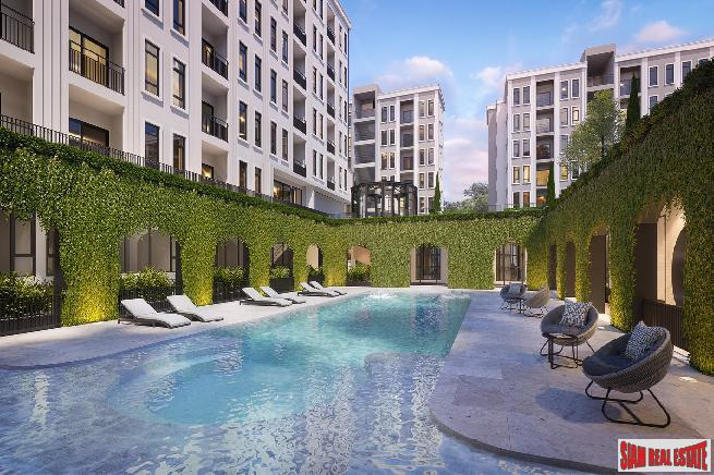 RESALE UNITS at SOLD OUT New Low-Rise Condo at Phra Ram 9 by Leading Thai Developer - One Bed 35m2 Units