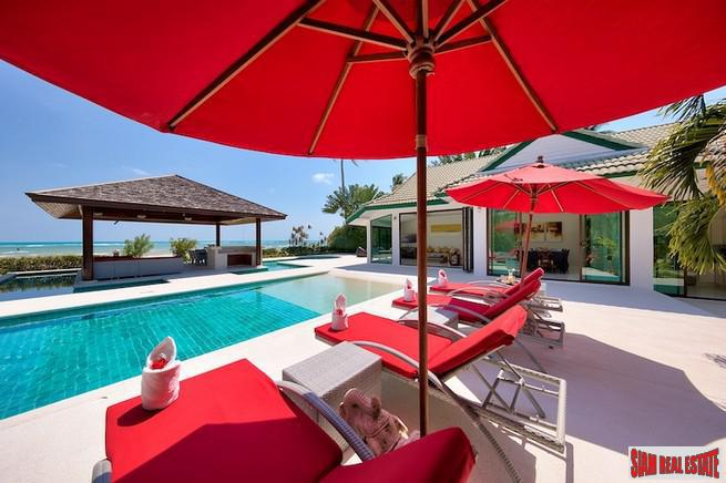 BEACHFRONT LUXURY VILLA KOH SAMUI