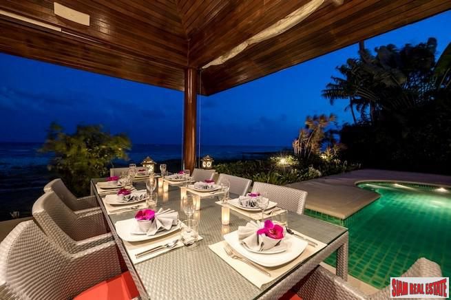 BEACHFRONT LUXURY VILLA KOH SAMUI 20