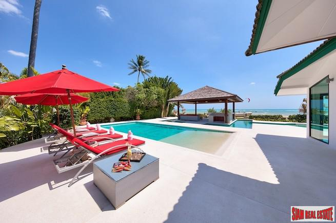 BEACHFRONT LUXURY VILLA KOH SAMUI 4