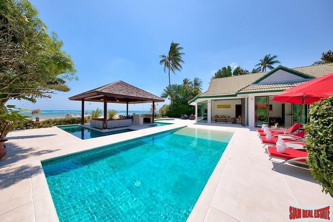 BEACHFRONT LUXURY VILLA KOH SAMUI 5