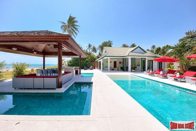 BEACHFRONT LUXURY VILLA KOH SAMUI 7