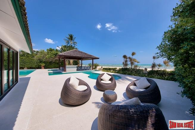 BEACHFRONT LUXURY VILLA KOH SAMUI 9