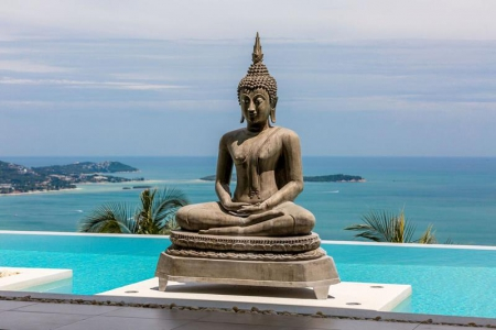 KOH SAMUI VILLA FOR SALE WITH STUNNING PANORAMIC VIEWS  S1339