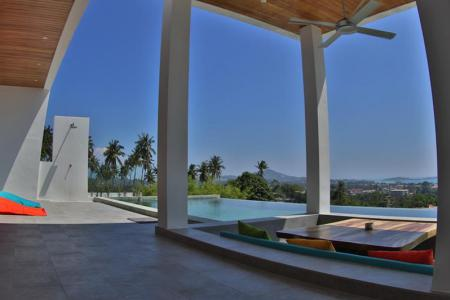 CONTEMPORARY SEA VIEW VILLA FOR SALE  S1350