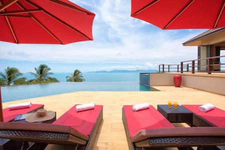 BREATHTAKING KOH SAMUI SEA VIEW VILLA FOR SALE  S1420