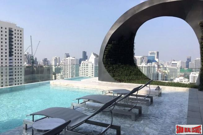 Corner Condo on 34th floor with Two Bedrooms in Asok